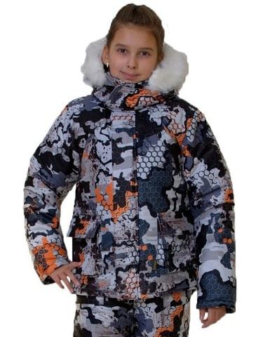 Костюм детский зимний Аляска (алова PR345-1)