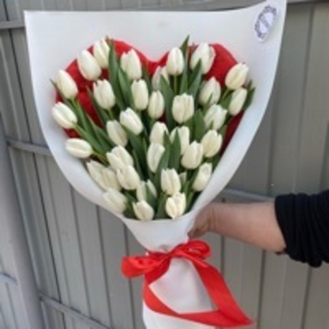 Сердце из Тюльпан