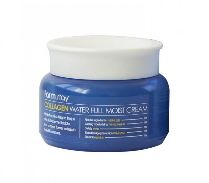 Крем для лица Farmstay Collagen Water Full Moist Cream 100 г.