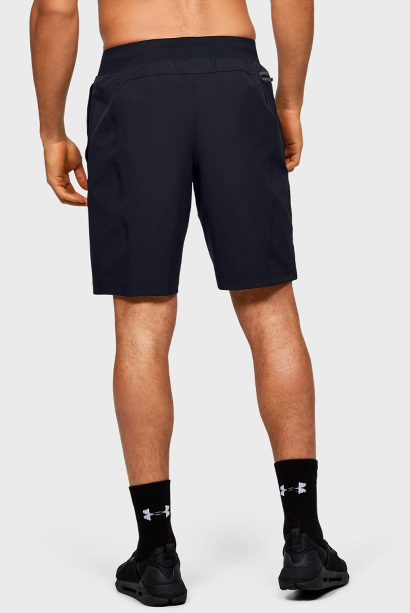 Мужские черные спортивные шорты FLEX WOVEN SHORTS Under Armour
