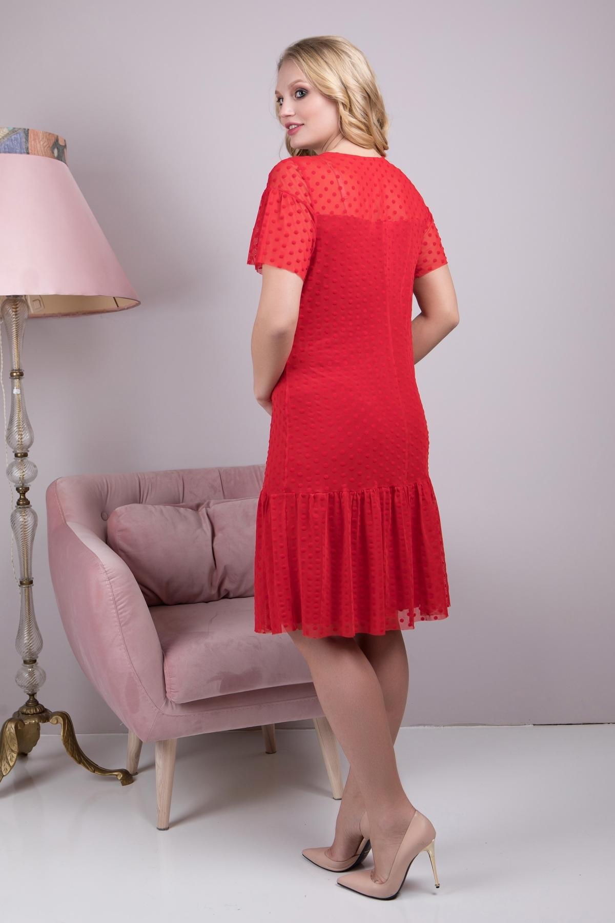 Платье Анна (красный )