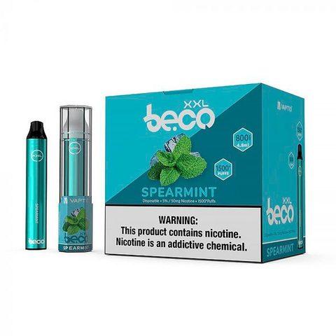 Одноразовая электронная сигарета Beco XXL Mint Ice (Мята и Лед)