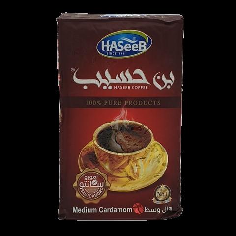 Арабский кофе с кардамоном medium Cardamon Хасиб HASEEB, 500 гр