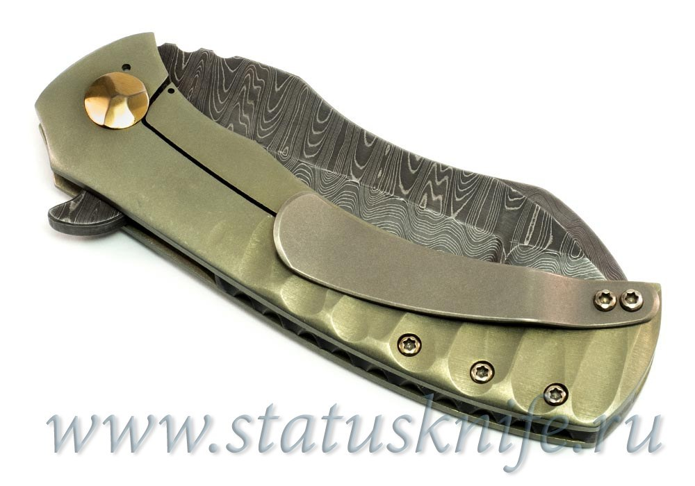 Нож Super Panda Custom Doc Shiffer - фотография