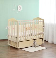 Детская кроватка с поперечным или продольным маятником СКВ Берёзка