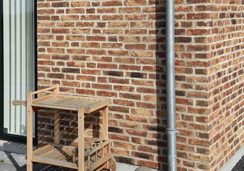 Randers Tegl, RT 452 HF, Bunt Gotik Handformziegel, полнотелый - Клинкерный кирпич ручной формовки