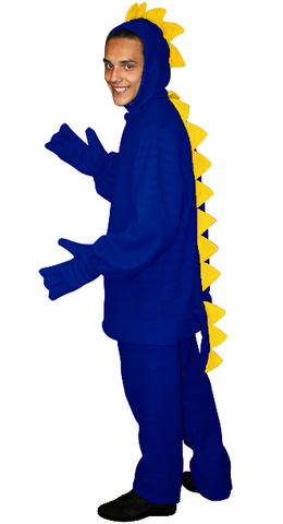 Костюм Дракон синий