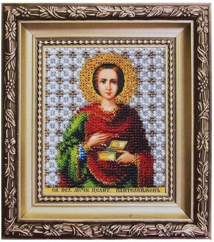 Б-1169 Икона великомученика и целителя Пантелеймона