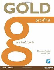 Gold NEd Pre-First Teacher's Book