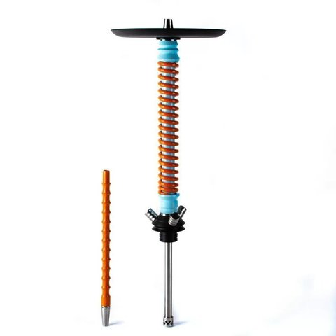 Mamay Customs Coilovers Blue-Orange Hookah