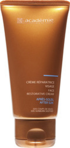 Academie Успокаивающий крем для лица | Bronzecran Face restorative cream