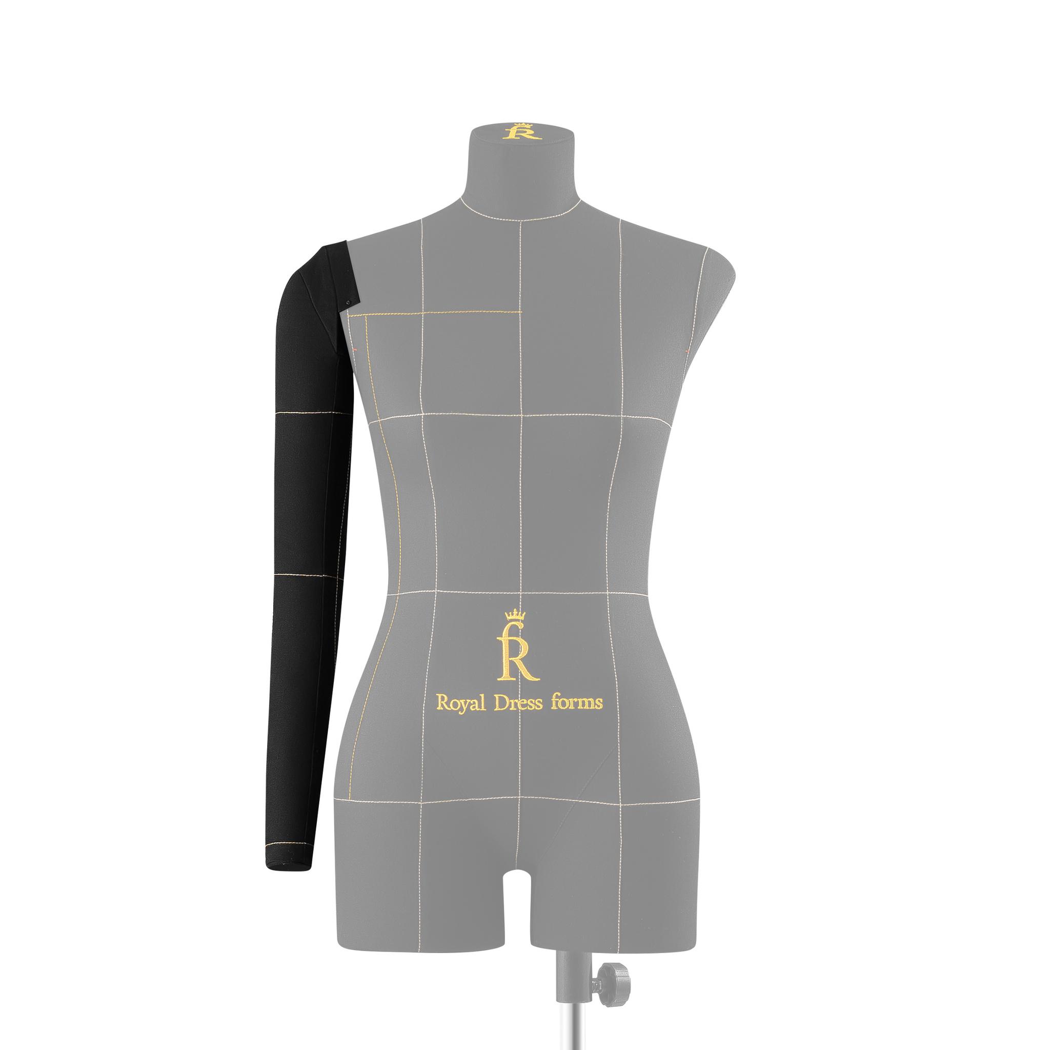 Правая рука для манекена Моника, черная, размер 42-44  тип фигуры Песочные часыФото 0
