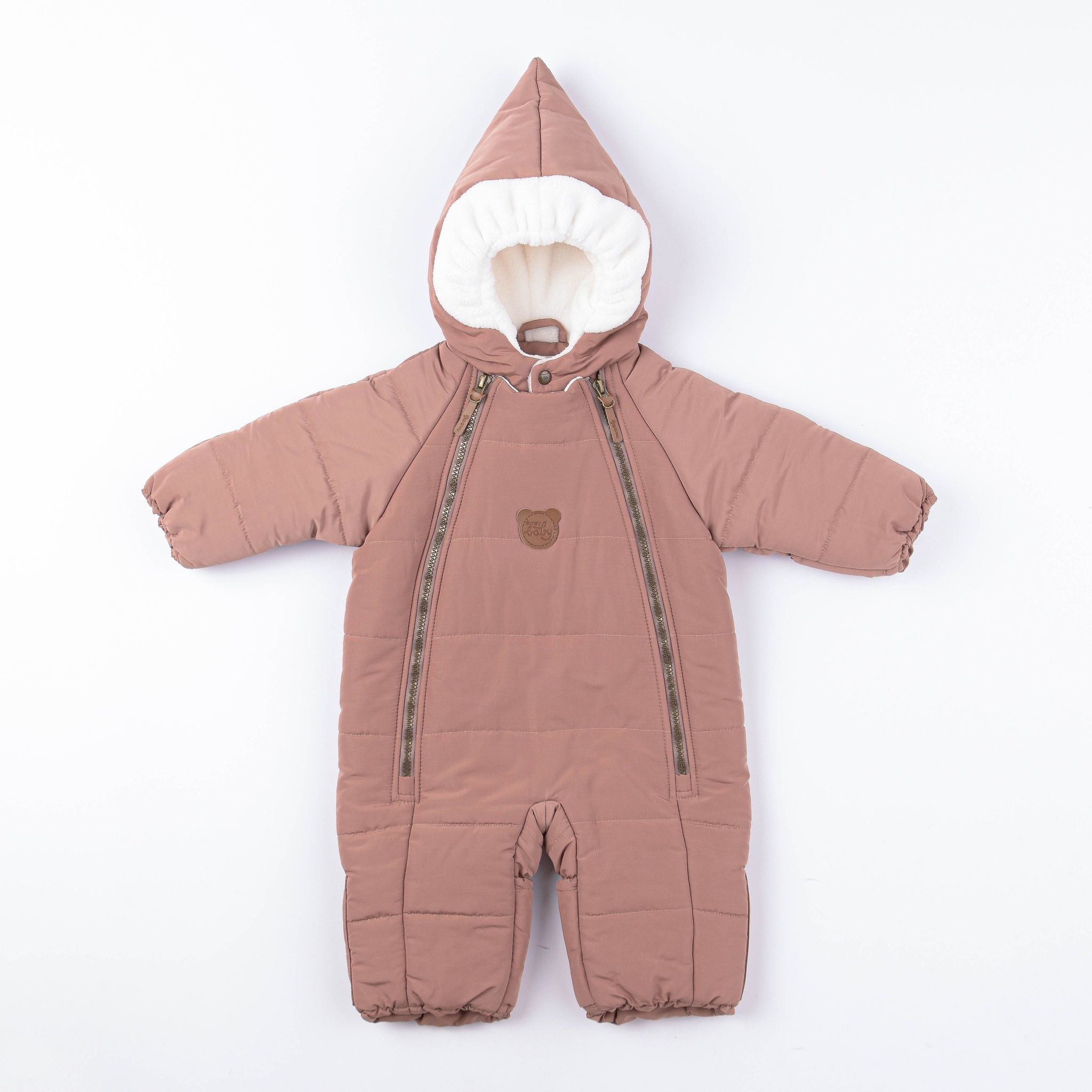 Winter jumpsuit 0+, Toffee