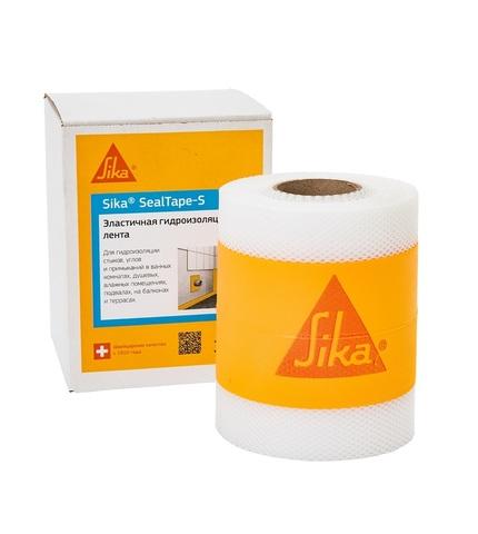 Sika SealTape S/Сика СилТэйп С Специальная лента для герметизации периметра и швов во влажных зонах, покрытых плиткой.