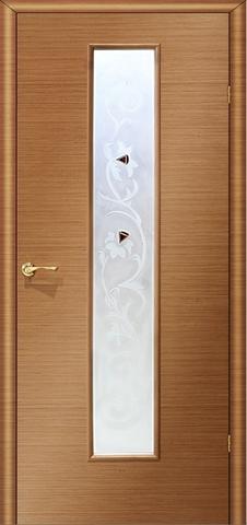 Дверь Ника 2 ПО «фьюзинг» (анегри, остекленная шпонированная), фабрика LiGa