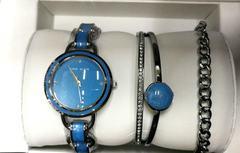 Женские часы Anne Klein с 3 браслетами