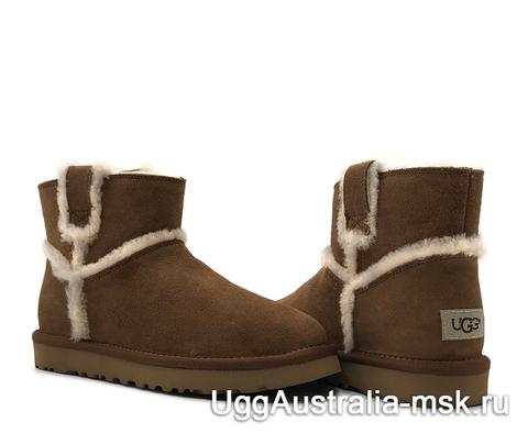 UGG Classic Mini Top Wool Brown