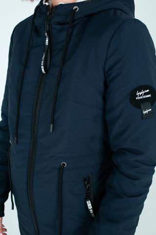 Куртка парка удлиненная на меху Nadya