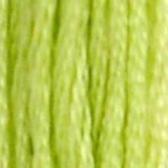 Нитки  мулине DMC хлопок  Салатовый 16