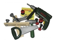 Klein Набор инструментов с дрелью в прозрачном в кейсе BOSCH (8416K)