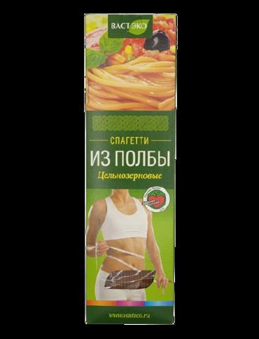Макароны полбяные Спагетти цельнозерновые ВАСТЭКО