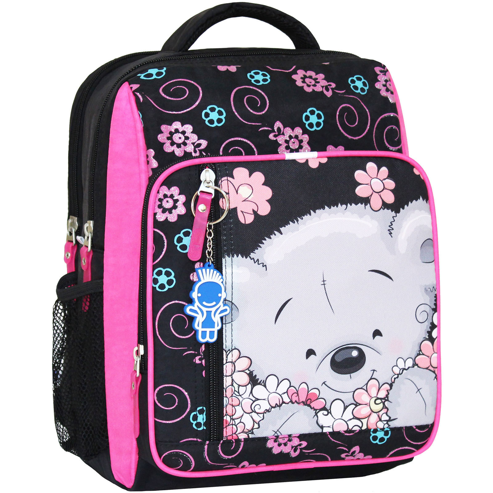 Школьные рюкзаки Рюкзак школьный Bagland Школьник 8 л. черный 406 (0012870) IMG_7733_суб_406_.JPG