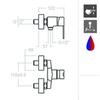Смеситель для гигиенического душа RS-Q 9343S - фото №2