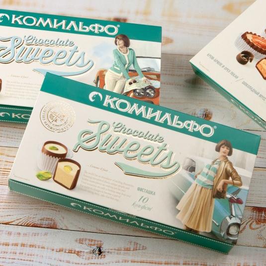 Купить конфеты КОМИЛЬФО в Перми доставка цветов и подарков
