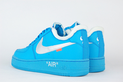 кроссовки Nike Air Force 1 Low x Off-White MCA Blue