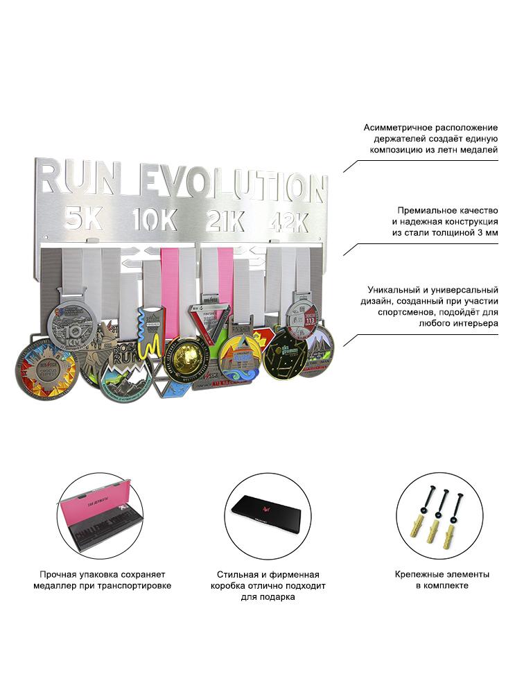 Медальница Run evolution