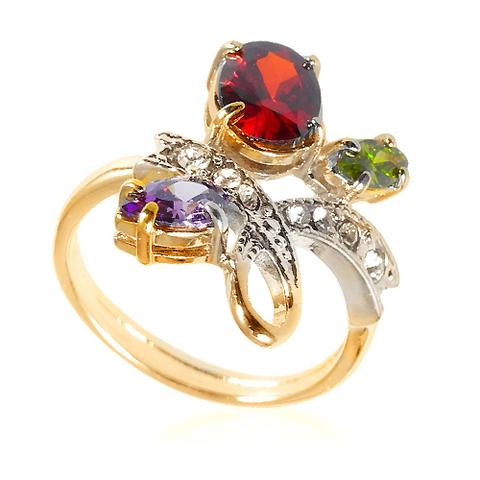 Кольцо с позолотой Амбон
