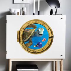 В поисках Немо 3D наклейка Краш Дори Немо