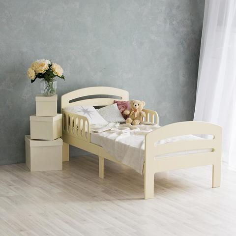Кровать подростковая Феалта-baby Лахта, слоновая кость
