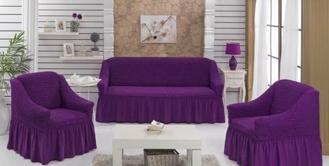 Набор чехлов на трехместный диван и два кресла Edna