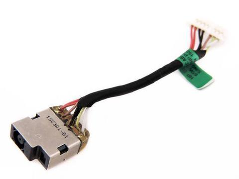 Разъем питания для ноутбука HP 13-A 15-U 762825-FD1 со шлейфом