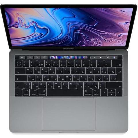 Ноутбук Apple MacBook Pro 13 with Retina display and Touch Bar Mid 2019 MUHN2RU/A Серый Космос (Intel Core i5 1400 MHz/13.3