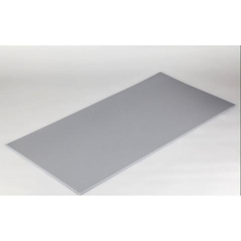 негорючая  акустическая панель ECHOTON FIREPROOF 100x50x1cm  из материала  меламин серый
