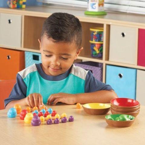 """LER5554 Развивающая игрушка """"Цветные гнёздышки"""" (36 элементов)"""