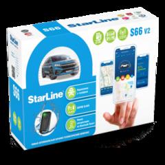 Автосигнализация StarLine S66 v2 BT 2CAN+4LIN 2SIM GSM