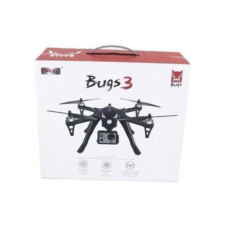 Квадрокоптер MJX Bugs 3 с FPV WiFi 4K камерой - MJX-B3-RWC001