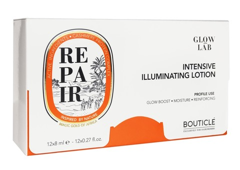 Восстанавливающий интенсивный лосьон придающий сияние - REPAIR INTENSIVE ILLUMINATING LOTION BOUTICLE (12x8мл)