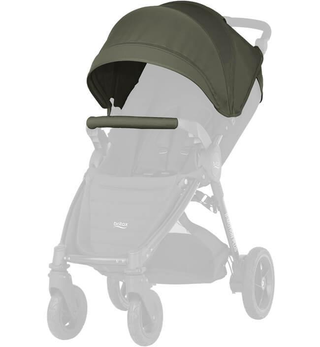 Капор для коляски B-Agile 4 Plus, B-Motion 4 Plus, B-Motion 3 Plus Капор для коляски B-Agile 4 Plus, B-Motion 4 Plus, B-Motion 3 Plus Olive Green 2000025711.jpg