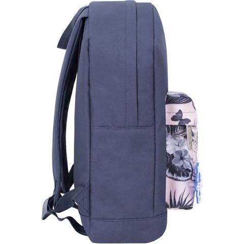 Рюкзак Bagland Молодежный W/R 17 л. серый 458 (00533662)