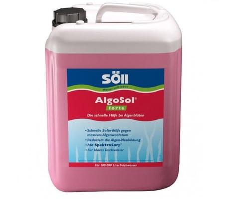 Против водорослей в пруду усиленного действия Soll AlgoSol Forte 2,5L