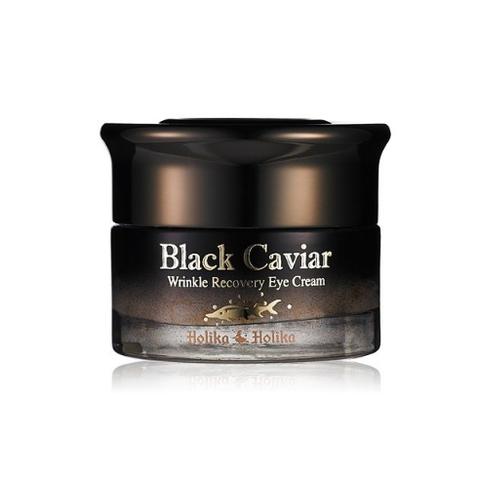 HOLIKA HOLIKA Black Caviar Питательный лифтинг крем для глаз