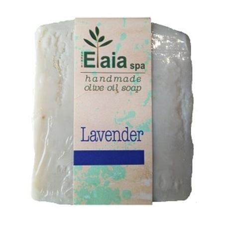 Греческое мыло ручной работы Лаванда Elaia spa 100 гр