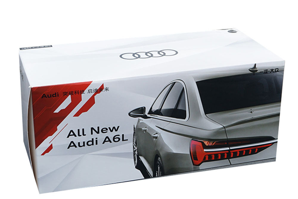 Коллекционная модель AUDI A6 ALL NEW 2019 BLACK