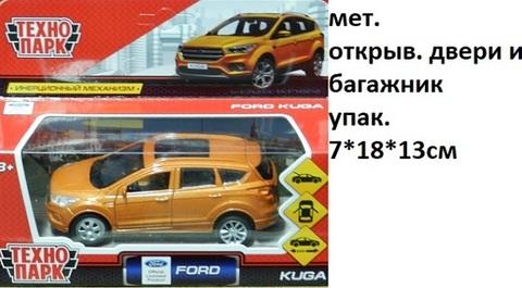 Машина мет. KUGA-RD Fopd Kuga (СБ) золотой
