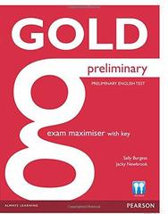 Gold NEd Preliminary Maximiser with Key+online Class Cds