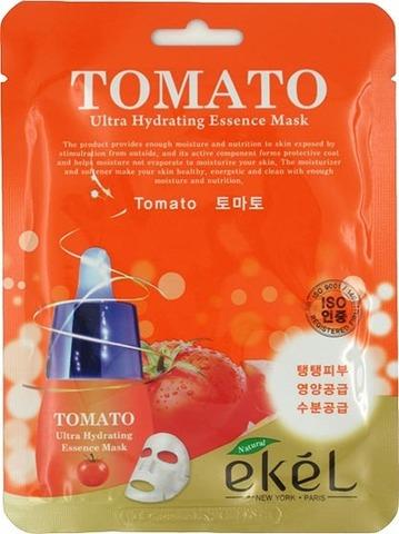 270132 EKEL Тканевая маска для лица с экстрактом томата Tomato